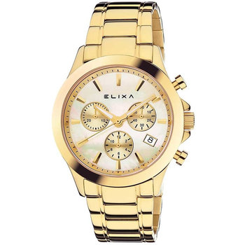 ELIXA Enjoy Chronograph Gold