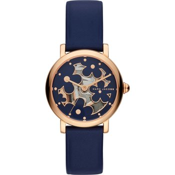 MARC JACOBS Classic Blue Leather Strap