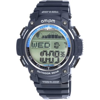 AM:PM Digital Chronograph