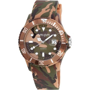 AM:PM Club Camo Rubber Strap