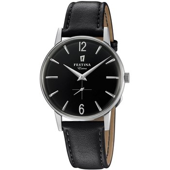 FESTINA Extra Black Leather