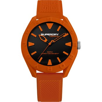 SUPERDRY Osaka Orange Silicone Strap