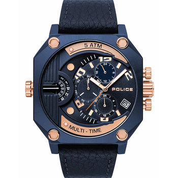 POLICE Furnace Dual Time Blue