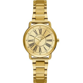 GUESS Ladies Gold Stainless