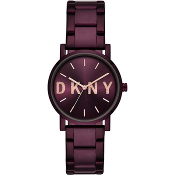DKNY Soho Purple Stainless