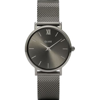 CLUSE Minuit Grey Stainless