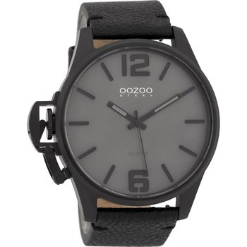 OOZOO Steel Black Leather