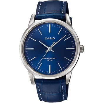CASIO Collection Blue Leather