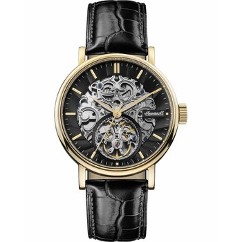INGERSOLL Charles Automatic Black Leather Strap
