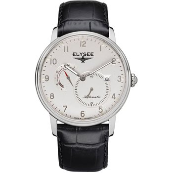 ELYSEE Priamos Automatic Black Leather Strap