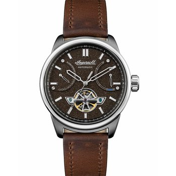 INGERSOLL Triumph Automatic Brown Leather Strap