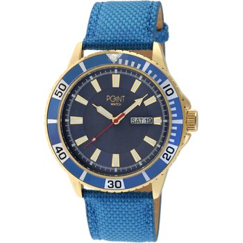 POINT WATCH Poseidon Blue