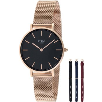 POINT WATCH Maria Rose Gold