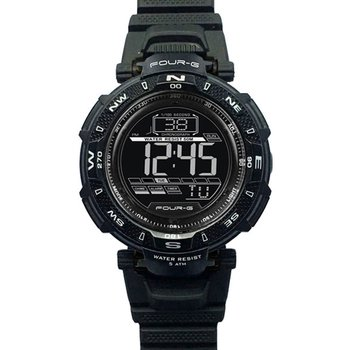 JAGA Four-G Chronograph Black