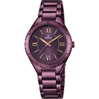 FESTINA Purple Stainless