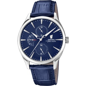 FESTINA Blue Leather Bracelet