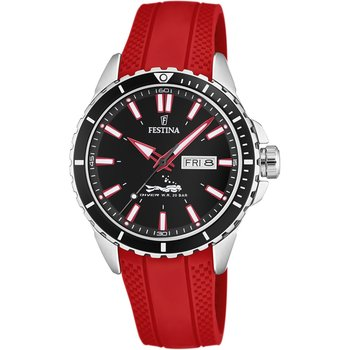 FESTINA Diver Red Rubber
