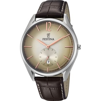 FESTINA Brown Leather Bracelet