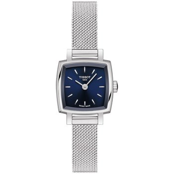 TISSOT T-Lady Lovely Square Silver Stainless Steel Bracelet