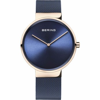 BERING Classic Blue Stainless