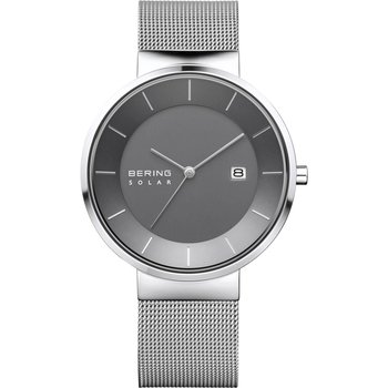 BERING Solar Silver Stainless