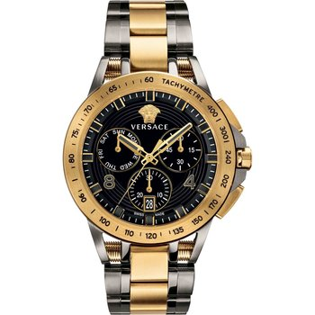 VERSACE Chronograph Two Tone