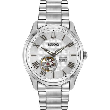 BULOVA Mechanical Collection Automatic Silver Stainless Steel Bracelet