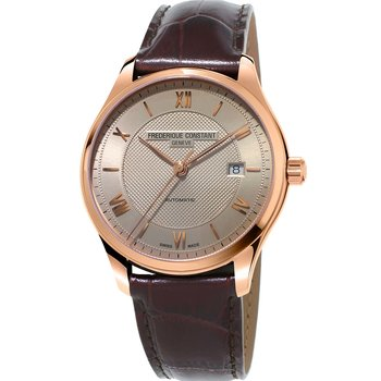 Frederique Constant Classics index Automatic Brown Leather Strap