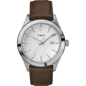 TIMEX Style Brown Leather