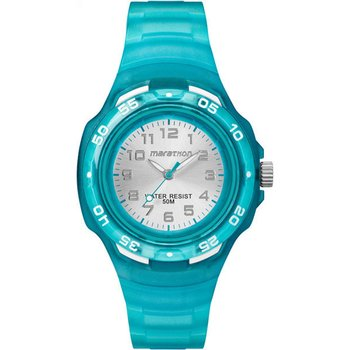TIMEX Marathon Light Blue Rubber Strap