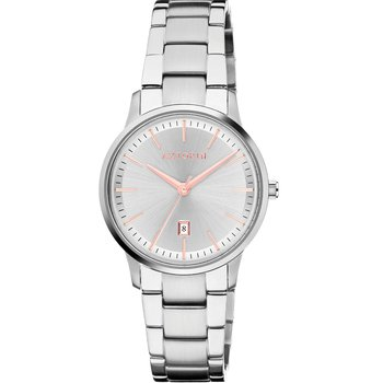 AZTORIN Classic Silver Stainless Steel Bracelet