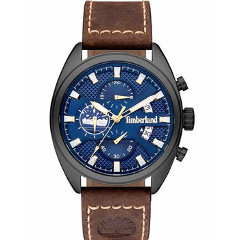 TIMBERLAND Seabrook Chronograph Brown Leather Strap