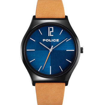 POLICE Orkneys Brown Leather