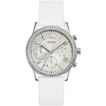 GUESS Ladies Crystals White