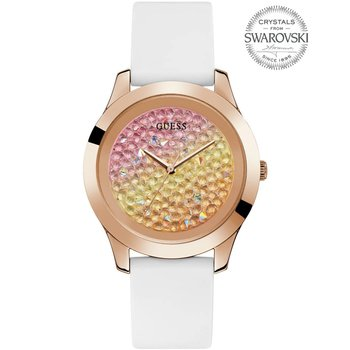 GUESS Ladies Swarovski White