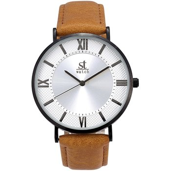 ST WATCH Empire Brown Leather