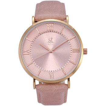 ST WATCH Empire Pink Leather