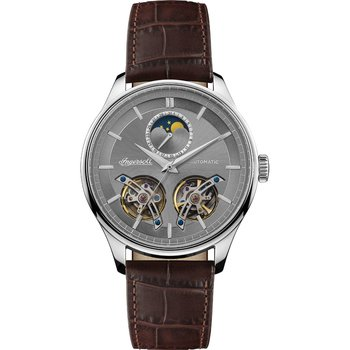 INGERSOLL Chord Automatic Brown Leather Strap