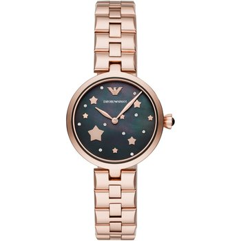 Emporio ARΜΑΝΙ Arianna Crystals Rose Gold Stainless Steel Bracelet