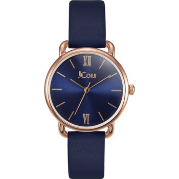JCOU Charm Blue Leather Strap