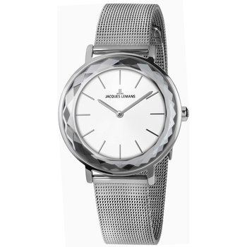 Jacques LEMANS York Silver Stainless Steel Bracelet