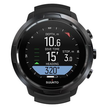 SUUNTO D5 with Black Silicone