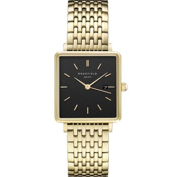 ROSEFIELD The Boxy Gold Stainless Steel Bracelet