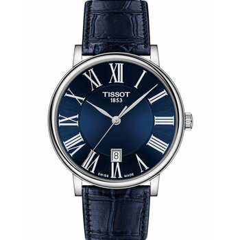 TISSOT Carson Blue Leather