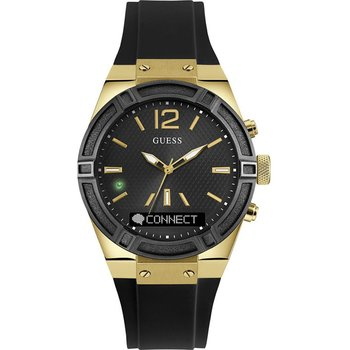 GUESS Connect Black Rubber