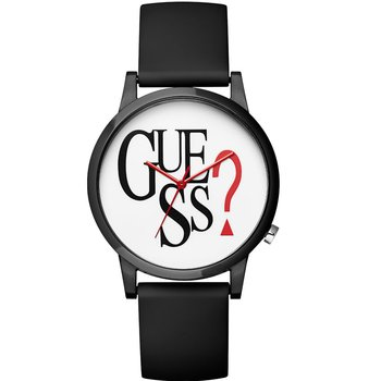 GUESS Ladies Black Rubber