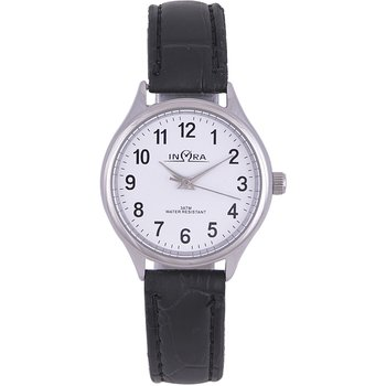 INORA Ladies Black Leather