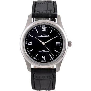 INORA Gents Black Leather