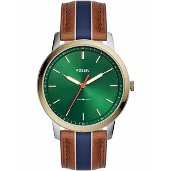 FOSSIL The Minimalist Two Tone Leather Strap