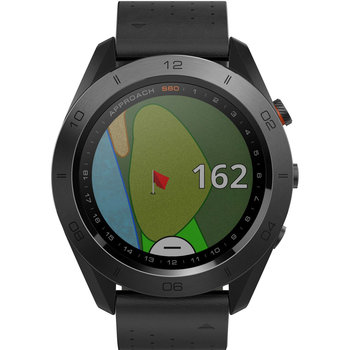 GARMIN Approach S60 Golf Watch with Black Silicone Strap